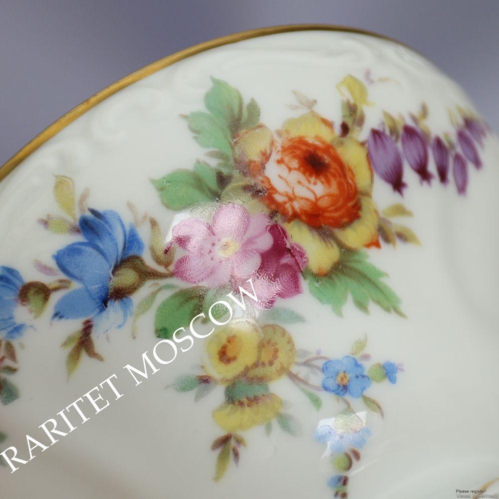 антикварная тарелка