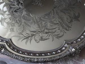 Дополнительные фотографии антикварного чайного подноса. Ярмарка Мастеров - ручная работа, handmade.