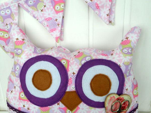 Шьем подушку-пижамницу «Сова Угу» | Ярмарка Мастеров - ручная работа, handmade