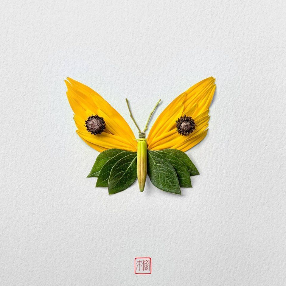 Petal Magic: Unusual Compositions by Raku Inoue, фото № 16