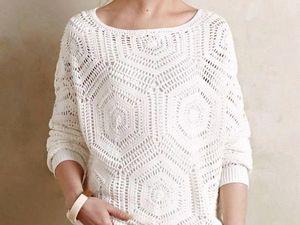 Очарование белого. Подборка весенних свитеров в белом цвете. Ярмарка Мастеров - ручная работа, handmade.