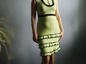 Аукцион на ЛЕТНЕЕ платье .Старт 2000 руб!. Ярмарка Мастеров - ручная работа, handmade.