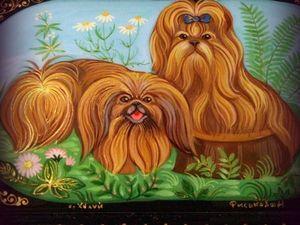 Милые собачки ждут вашего внимания и заботы !. Ярмарка Мастеров - ручная работа, handmade.