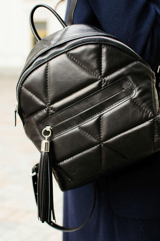 женский рюкзак, чёрный, tefia