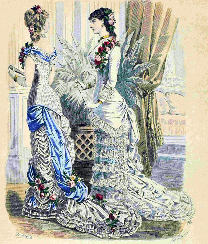 Восхитительная мода конца ХIХ века, фото № 4