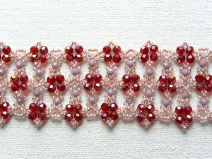 Плетем браслет «Агата» из бисера и бусин. Ярмарка Мастеров - ручная работа, handmade.