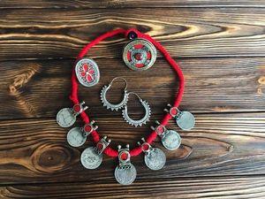 Новая коллекция племенных ожерелий. Ярмарка Мастеров - ручная работа, handmade.