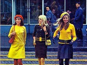 Мода на улицах Лондона, 1960-х | Ярмарка Мастеров - ручная работа, handmade