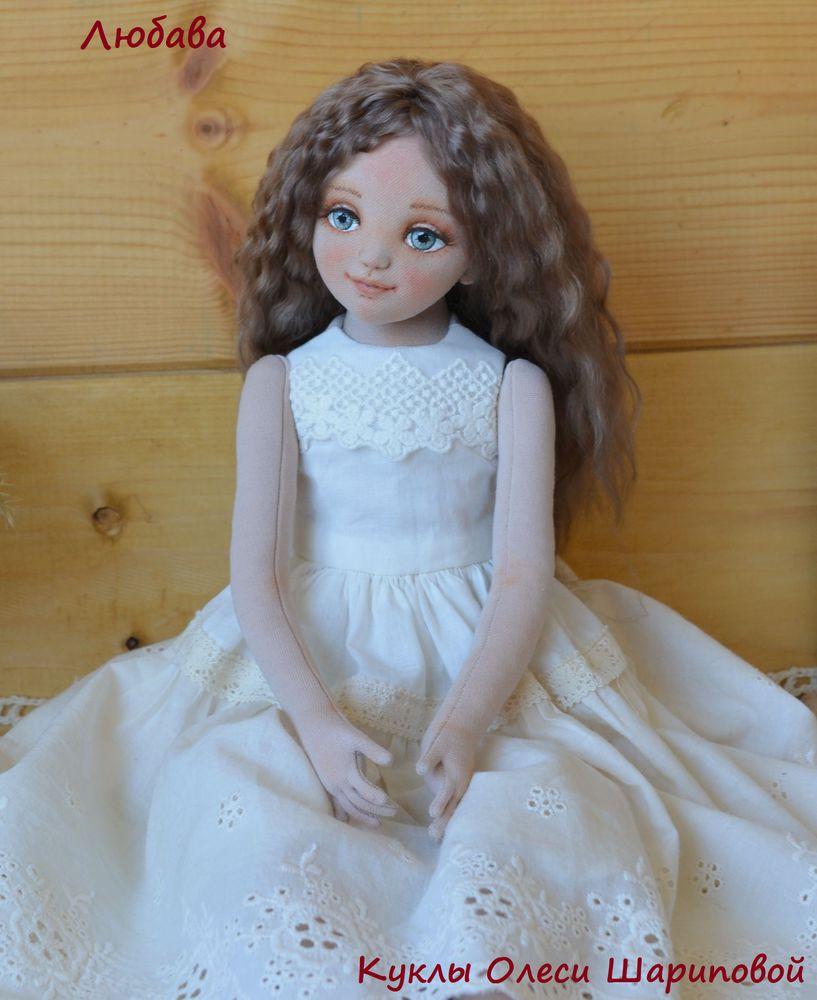 авторская кукла, куклыолесишариповой, авторскаякукла, купить куклу, нежность