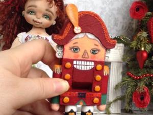 Мари и Щелкунчик, авторская кукла ручной работы. Ярмарка Мастеров - ручная работа, handmade.