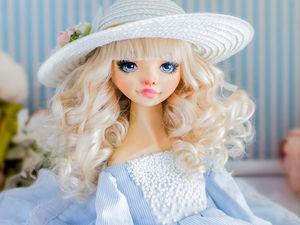 Алиса авторская кукла, интерьерная коллекционная кукла, подарок. Ярмарка Мастеров - ручная работа, handmade.