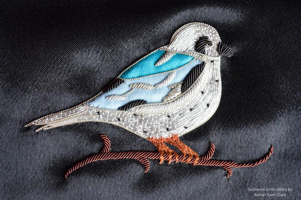 Изысканные образцы вышивки от ателье Saint Clare