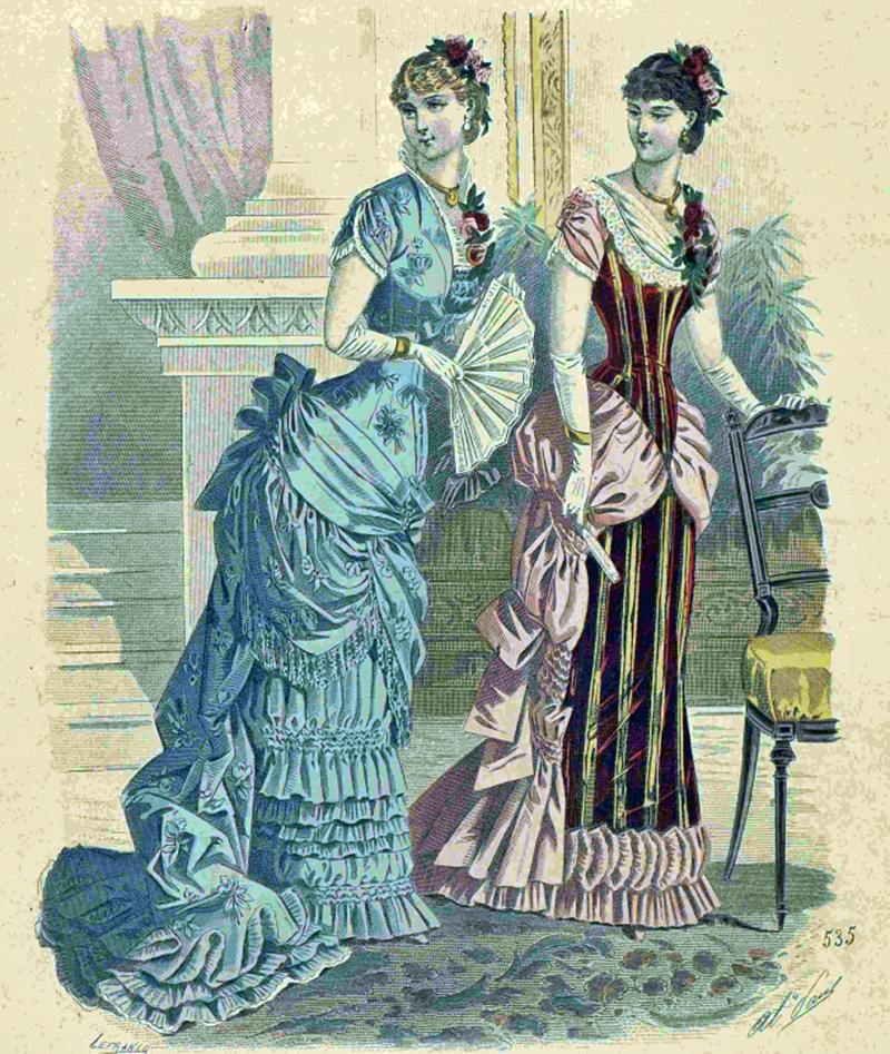Восхитительная мода конца ХIХ века, фото № 9