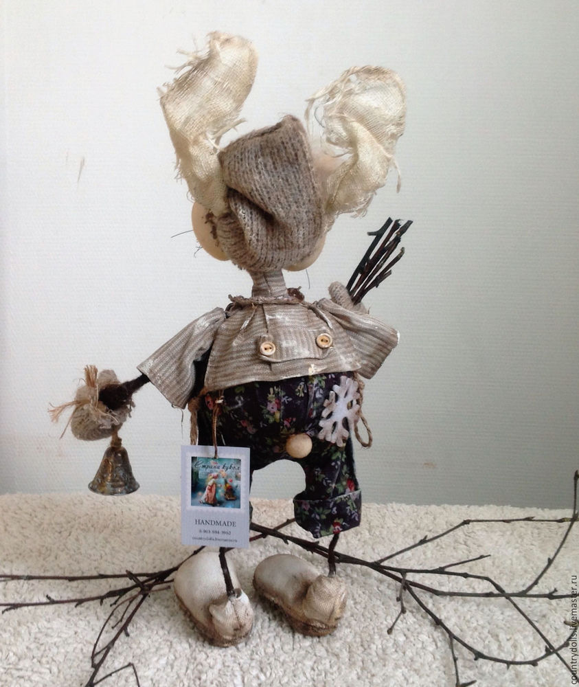 кукла заяц
