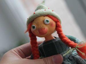 Новая куколка в моем магазине!. Ярмарка Мастеров - ручная работа, handmade.