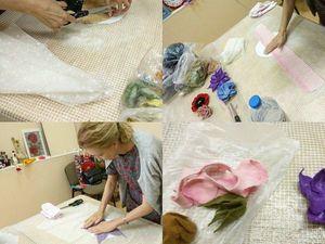 Отчет о прошедшем 7 июня мастер-классе по валянию цветов.   Ярмарка Мастеров - ручная работа, handmade