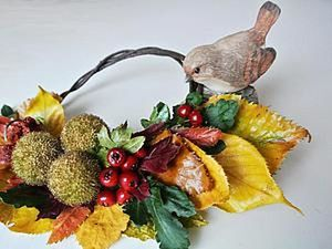Make an Autumn Home Decoration for 5 Minutes. Livemaster - handmade