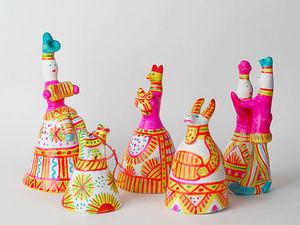 Филимоновская игрушка. Ярмарка Мастеров - ручная работа, handmade.