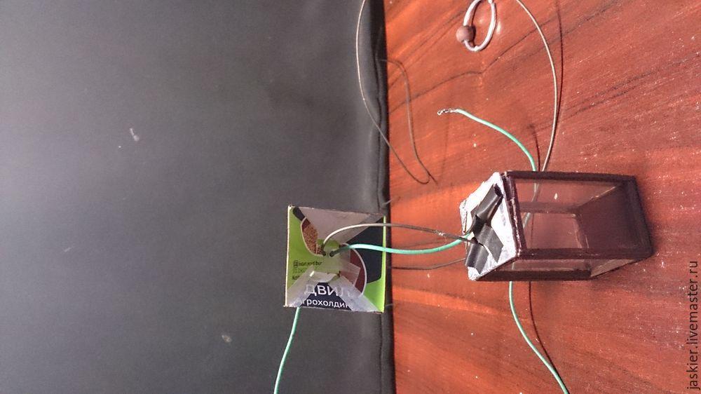 Мастерим для кукольного домика светящийся фонарь в миниатюре, фото № 11