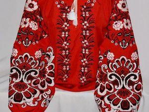 Красное-прекрасное: о рубахах и другом. Ярмарка Мастеров - ручная работа, handmade.