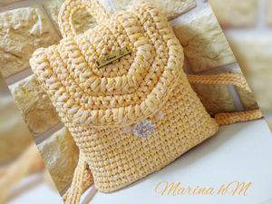 Обзор желтого рюкзака. Ярмарка Мастеров - ручная работа, handmade.