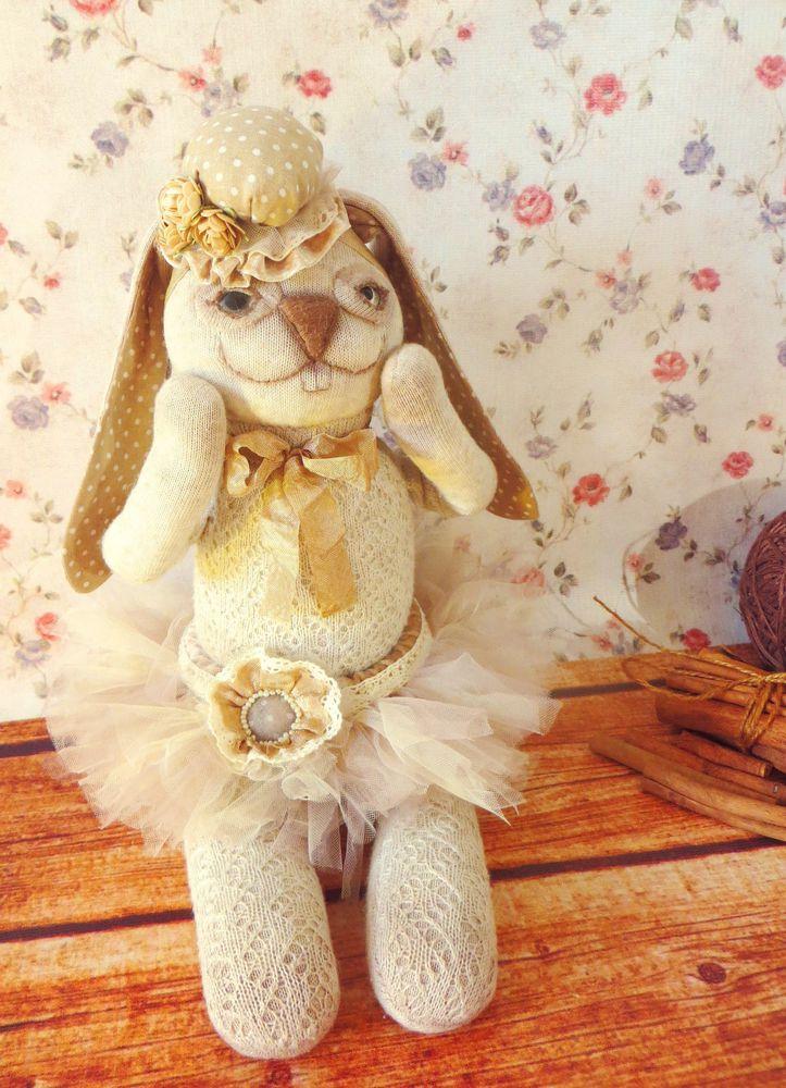заяц, игрушка ручной работы