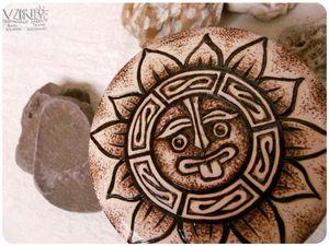 Солнце мая-майя. Ярмарка Мастеров - ручная работа, handmade.