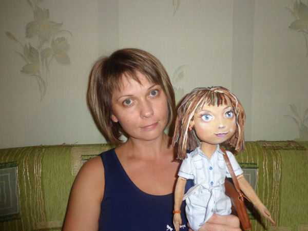 Портретная кукла | Ярмарка Мастеров - ручная работа, handmade