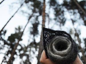 Новинка в Atelier Crochet Fox: фишю (мини-шаль) Attic stories (