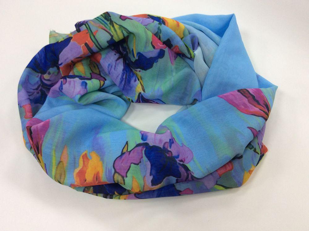 шарф колье, подарок девушке
