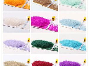 Оптовая закупка перьев страуса на ленте открыта!. Ярмарка Мастеров - ручная работа, handmade.