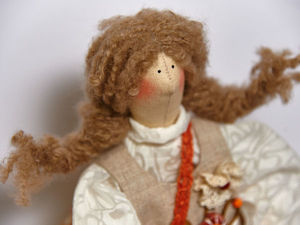 Новая кукла Дуняша. Ярмарка Мастеров - ручная работа, handmade.