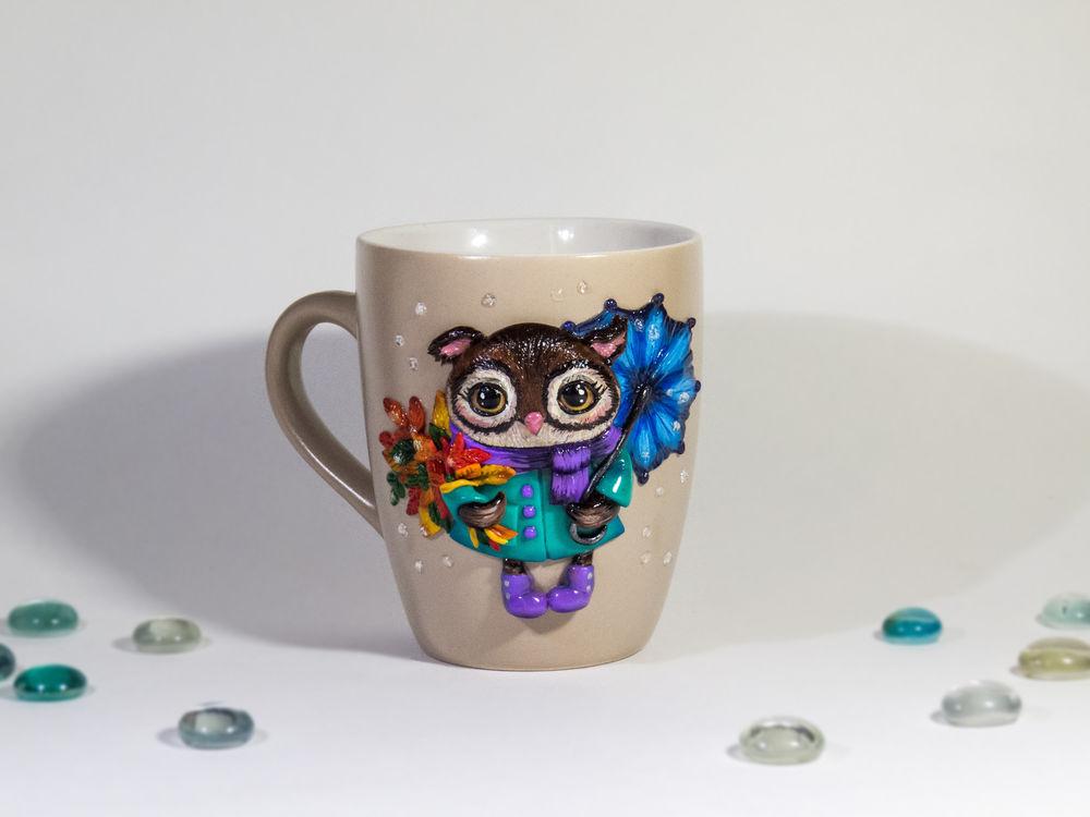 чашка с декором, новый товар