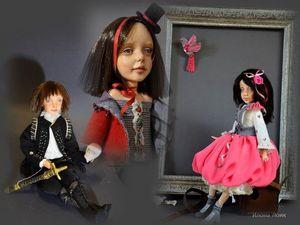 Коллекция интерьерных кукол ручной работы 2018. Ярмарка Мастеров - ручная работа, handmade.