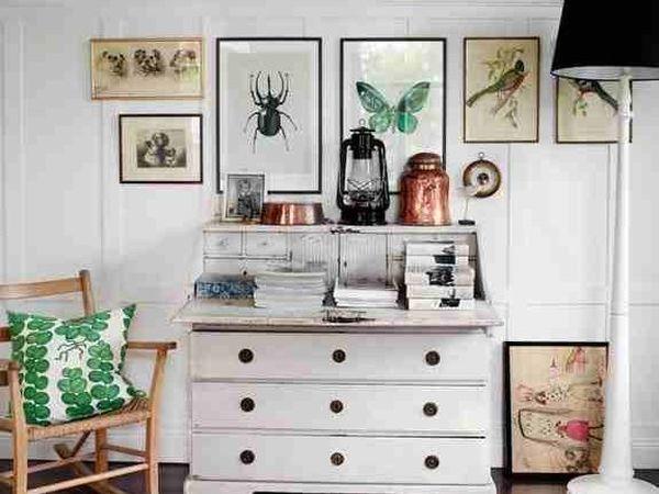 Интерьер в стиле винтаж в современном жилище. | Ярмарка Мастеров - ручная работа, handmade