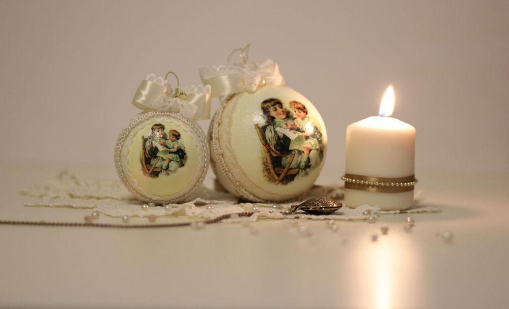 декупаж, decor, подарок на новый год, традиции