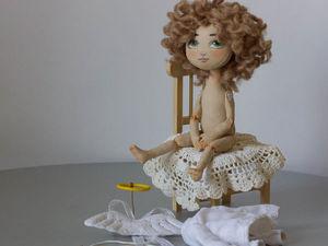 Мастер-класс по текстильной кукле «Ангел Амур». Часть 2. Ярмарка Мастеров - ручная работа, handmade.