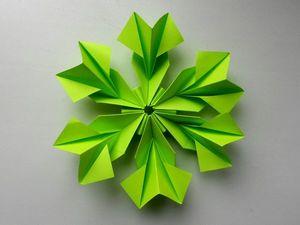 Мастерим простой цветок из бумаги. Ярмарка Мастеров - ручная работа, handmade.