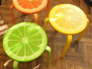 Мастер-класс по декорированию табурета «Мой прекрасный сад». 3 часть: окраска. Ярмарка Мастеров - ручная работа, handmade.