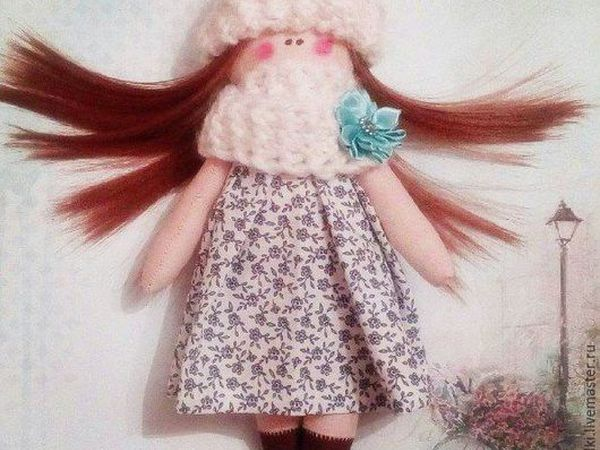 Лотерея. Текстильная кукла. ЗАКРЫТА. | Ярмарка Мастеров - ручная работа, handmade