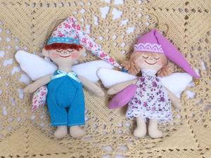 Ангелы хорошего сна снова в продаже   Ярмарка Мастеров - ручная работа, handmade