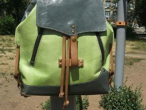Сумка-рюкзак, трансформер:Весенний 2. Ярмарка Мастеров - ручная работа, handmade.
