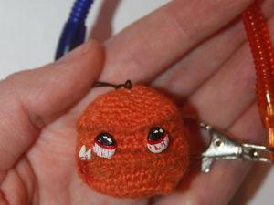 Мини мастер-класс: вяжем тыковку Буку — сувенир к Хэллоуину. Ярмарка Мастеров - ручная работа, handmade.
