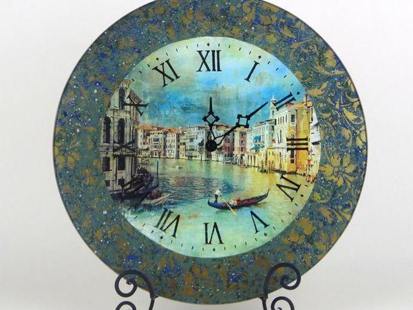 Обратный декупаж. Часы. | Ярмарка Мастеров - ручная работа, handmade