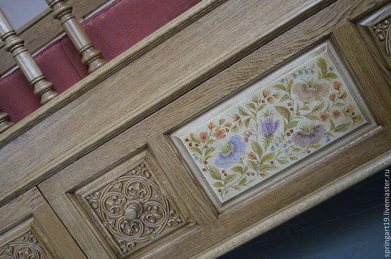 декорирование мебели, курсы росписи мебели