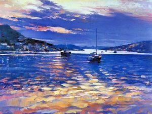 Сиреневый цвет в живописи Howard Behrens. Ярмарка Мастеров - ручная работа, handmade.