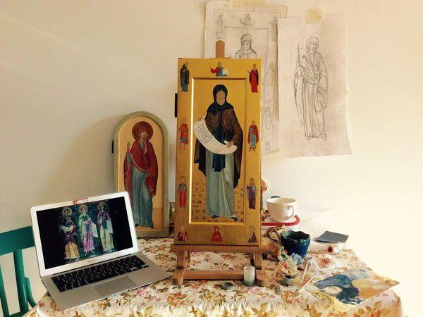Еще пару слов о Мерной иконе | Ярмарка Мастеров - ручная работа, handmade