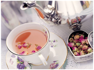 Чай из лепестков и бутонов розы эфиромасличной | Ярмарка Мастеров - ручная работа, handmade