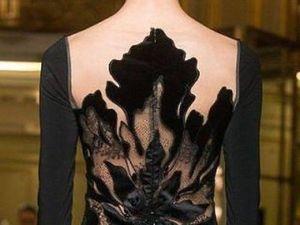 Красота платьев с текстурной вышивкой. Ярмарка Мастеров - ручная работа, handmade.