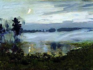 Mystical Tranquillity of Russian Nature in Paintings by Great Isaac Levitan. Livemaster - handmade